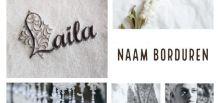 Naam borduren naam borduring