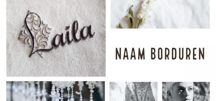 Naam borduring