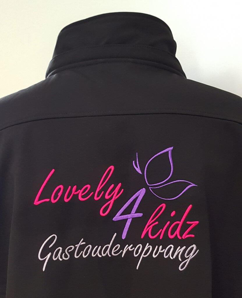 Geborduurd Logo Kinderopvang
