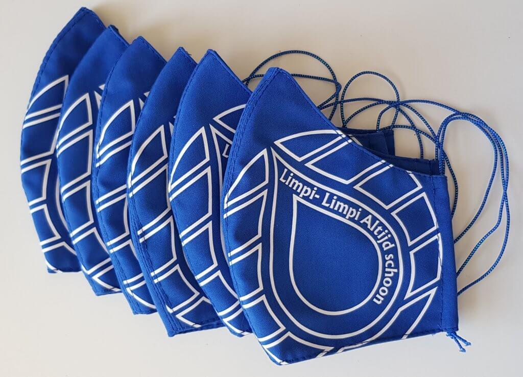 Mondkapjes met logo opdruk