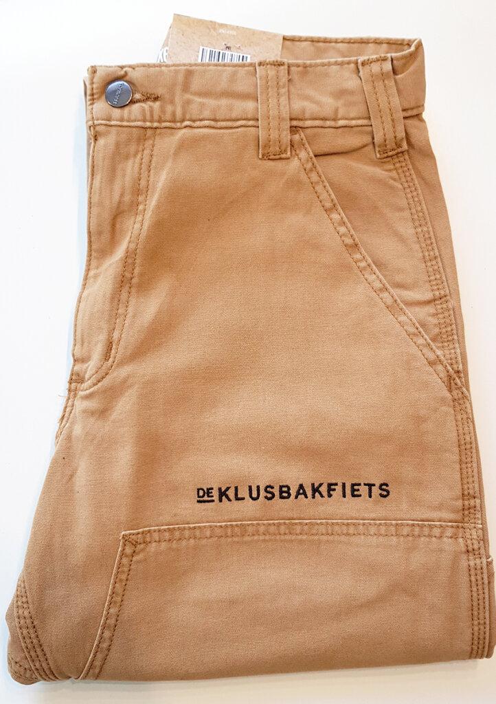 De Klusbakfiets borduring broek