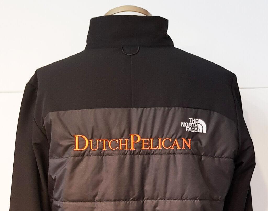 DutchPelican heren rugborduring