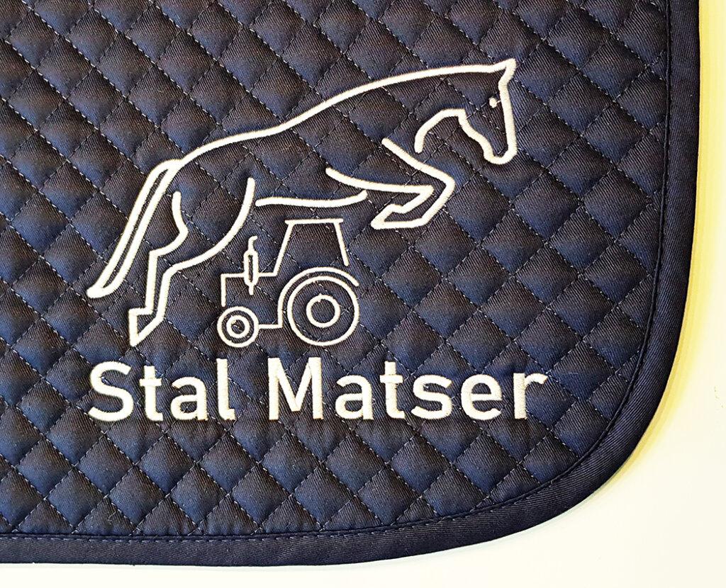 Stal Master Logo borduring sjabrak